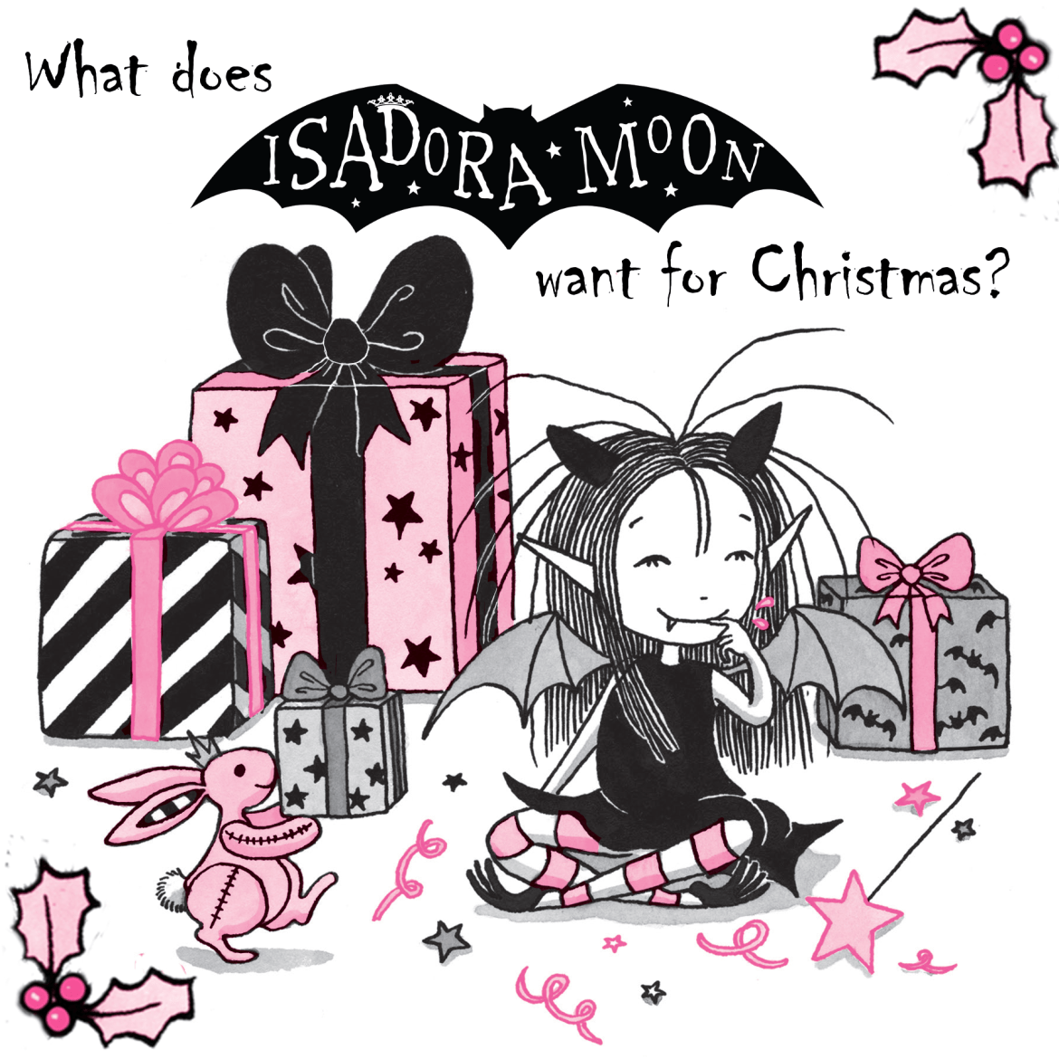 what does Isadora Moon want for Christmas?