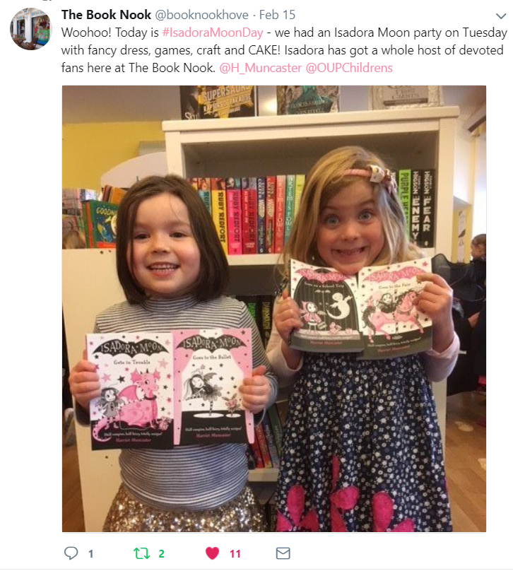 Isadora Moon Party at The Book Nook