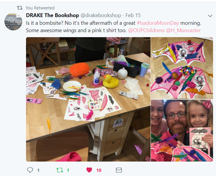 Isadora Moon Day Party at Drake The Bookshop