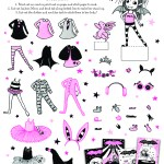 Isadora Moon Cut Out - Dress Up preview