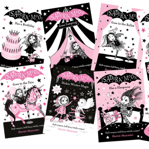 Isadora Moon books first 10 covers