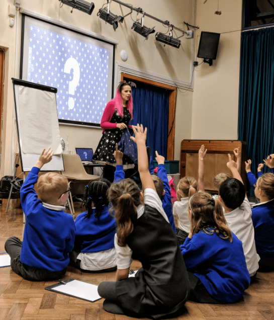 Harriet Muncaster at Abingdon Primary School