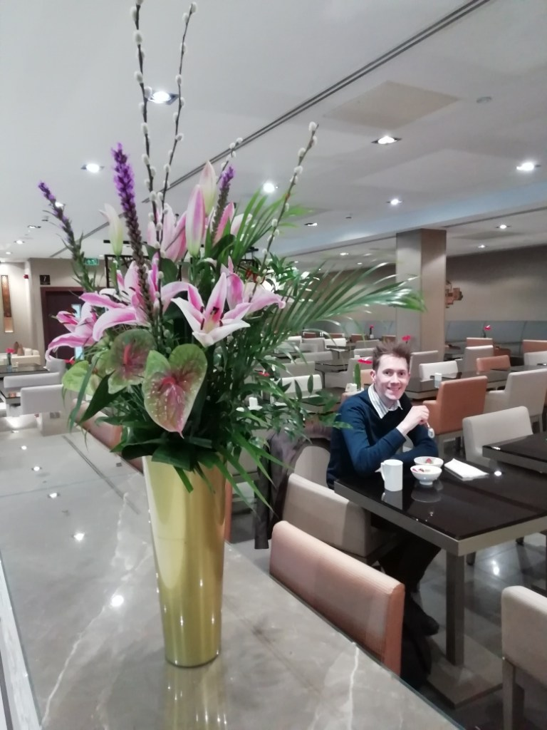 1 Heathrow Emirates business lounge