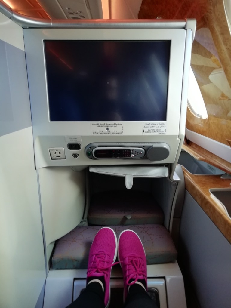 Lying in business class
