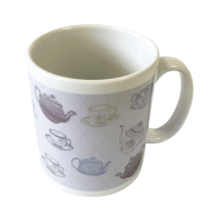 "Harriets ""teapot and tea cup"" Mug 