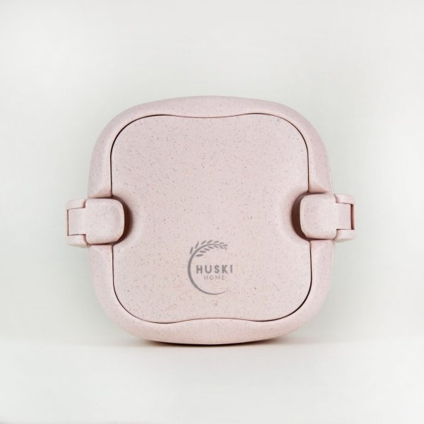 Huski lunch box colour pink