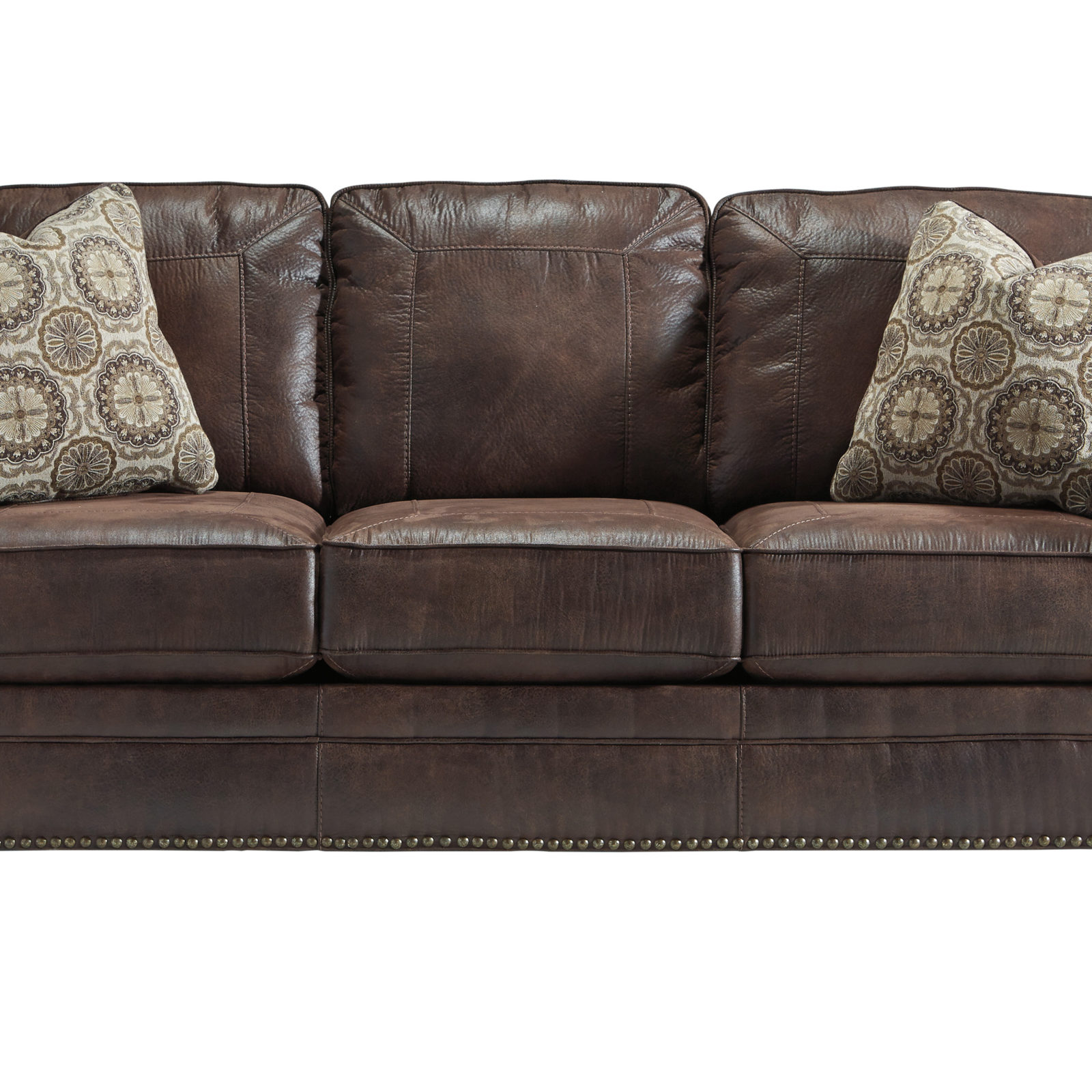 queen sofa bed no arms chesterfield fabric australia benchcraft breville harrington home furniture