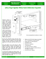 HIC High Speed Weld Hole Detection System