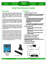 HIC Small Hole Detection System
