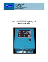 HIC HDPC Master Manual