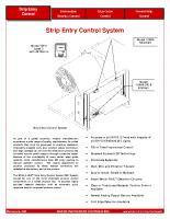 HIC Strip Entry Control