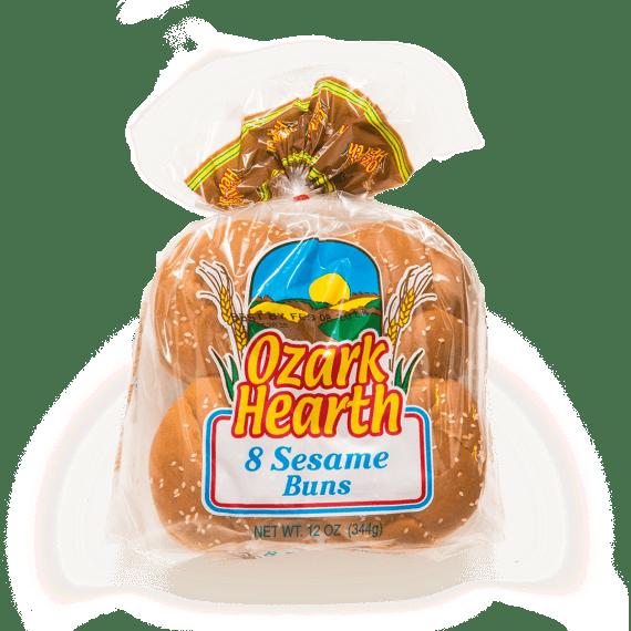 Ozark Hearth Sesame Buns