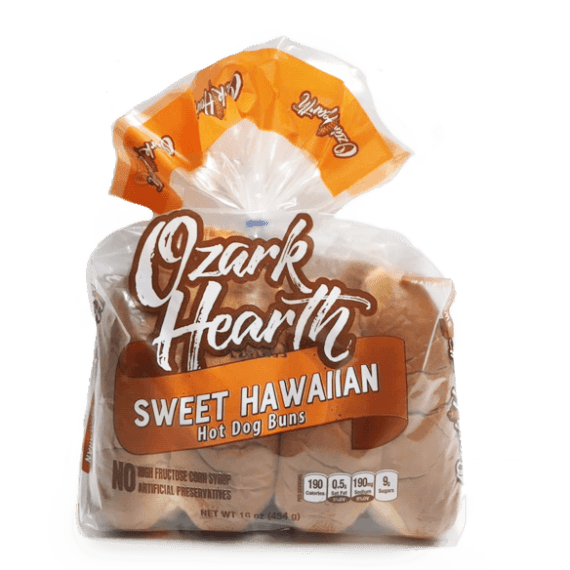 Sweet Hawaiian Coney Buns