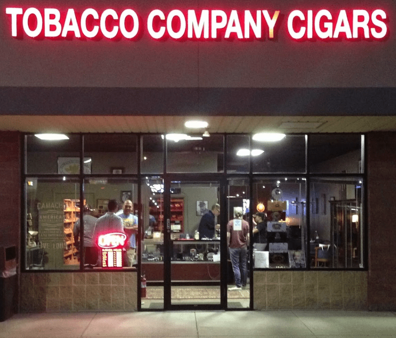 Harrisburg Cigar Club at Tobacco Company in Swatara Square