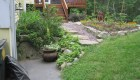 24-Olde Sturbridge Stepper with pea stone walkway (2)