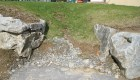 7-Ledgestone steps with bluestone treads (2)