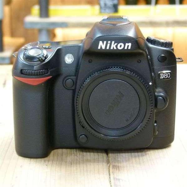 Used Nikon D80 Digital Slr Camera Body Harrison Cameras