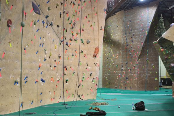 Indoor Rock Climbing Competition