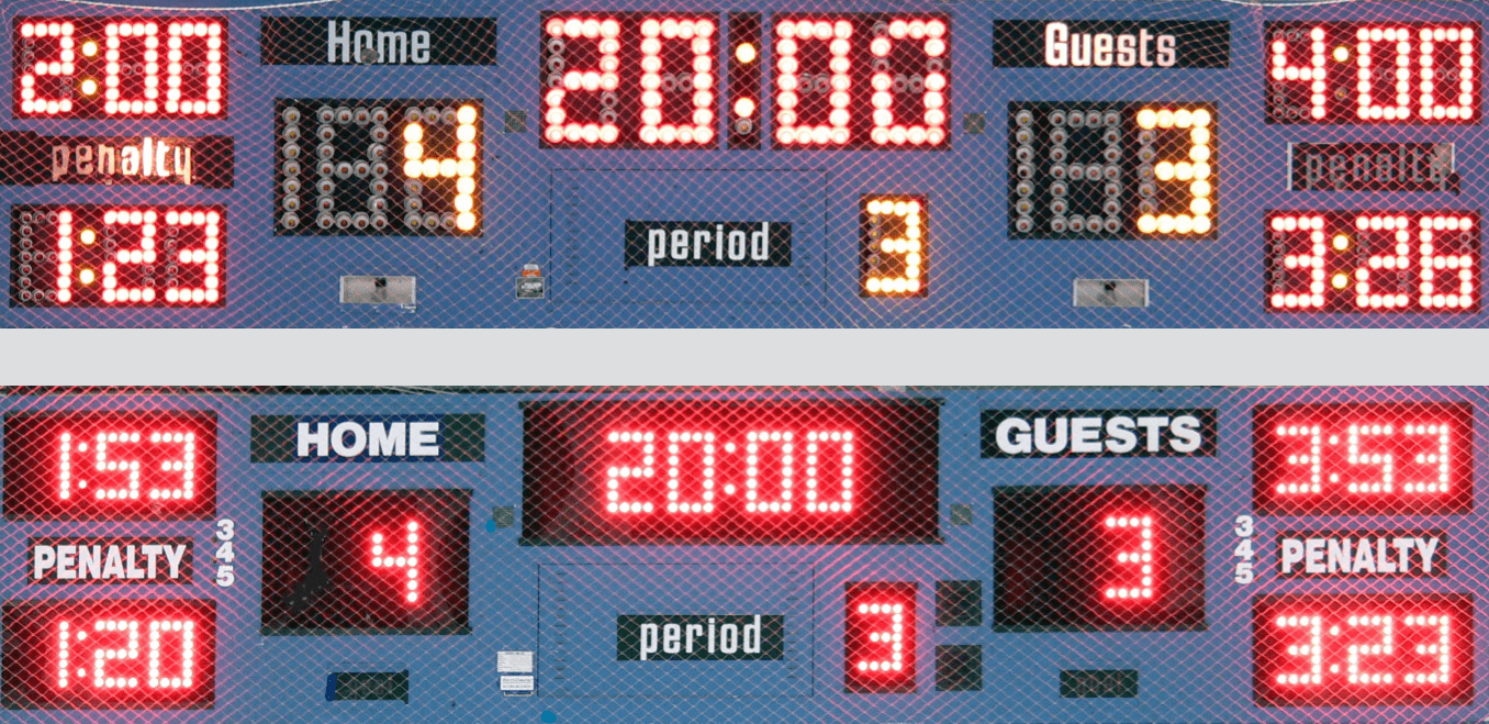 Retrofit Scoreboards