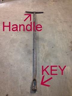Curb Key Lowes : lowes, Water, Valve, Sidewalk, Function, Harris