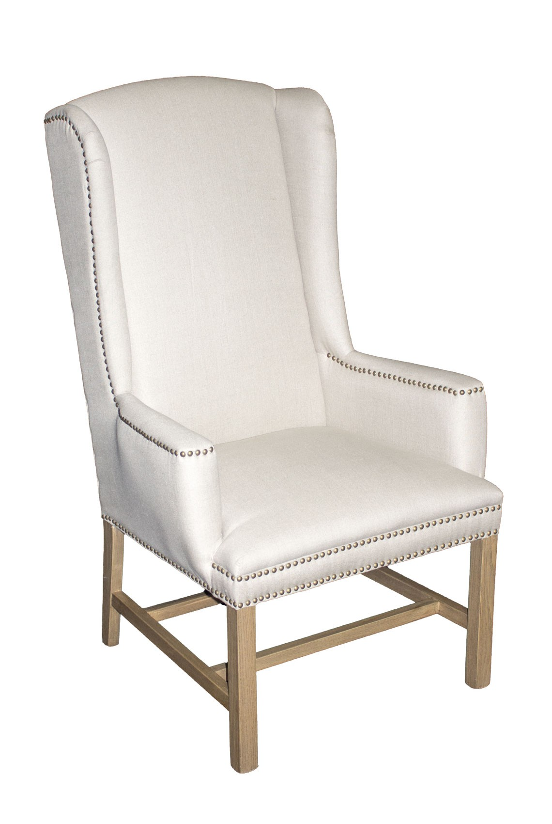 tall dining chairs office chair ratings ic170 linen wing back