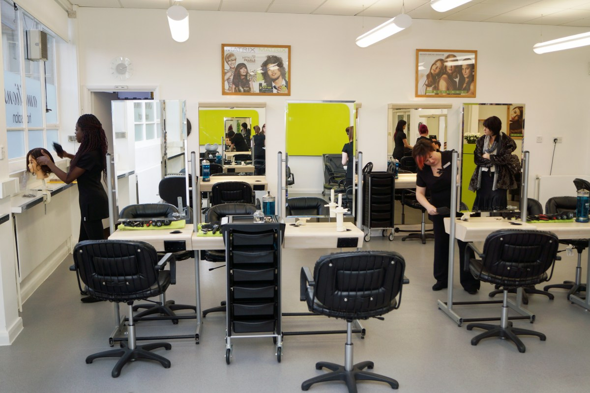 ambitions hair and beauty salon