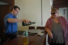 Cava Reception at Hotel Platjador