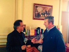 Tasting with owner=winemaker Didier Gimonnet