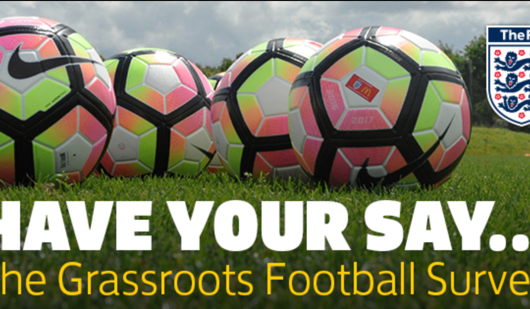Have Your Say – Grassroots Football Survey
