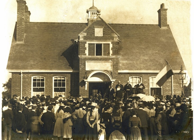 The Opening of Harrold Institute in 1901