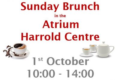 Sunday Brunch at the Centre 1st October