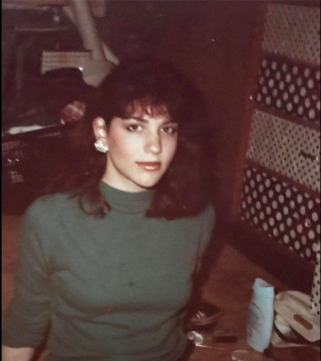 1983, someone put makeup on me.