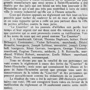 """«Un échec pour """"Le Courrier""""»"""
