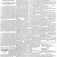 «La page éditoriale de 1934»