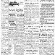 «La une du Courrier de Saint-Hyacinthe en 1939»