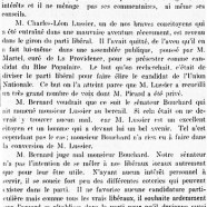 «M. Bernard et le parti libéral»