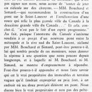 «MM Bouchard, Parizeau et Dollard; Un anonyme va-t-en guerre; Que le confrère se rassure»