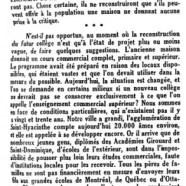 «Le Collège Sacré-Coeur»