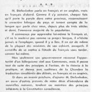 «Le très honorable John Diefenbaker et le caractère bilingue du pays»