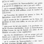 «L'honorable Maurice Duplessis nous parle du Nouveau-Québec»