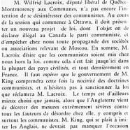 «M. Mackenzie King agira-t-il?»