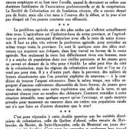 «Sociétés de colonisation»