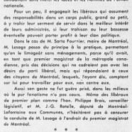 «Sophismes et inconséquences de M. Jean Lesage»