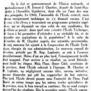 «Progrès constant à l'École technique de Saint-Hyacinthe»