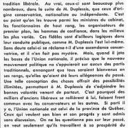 «Maurice Duplessis et les libéraux»