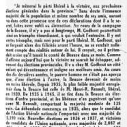 «M. Adélard Godbout prédit encore»