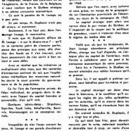 «Où Jean Lesage s'autorise de feu Maurice Duplessis»