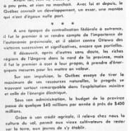 «L'honorable Maurice Duplessis après trente ans de vie publique»