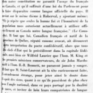 «M. Saint-Laurent inquiète de plus en plus»
