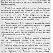 «L'honorable Maurice Duplessis et la conférence d'Ottawa»